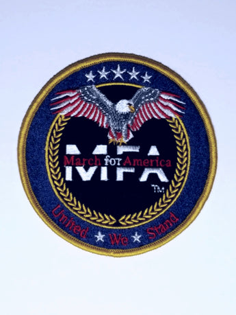 MFA - USA Made 4 1/2 Embroidered Patch