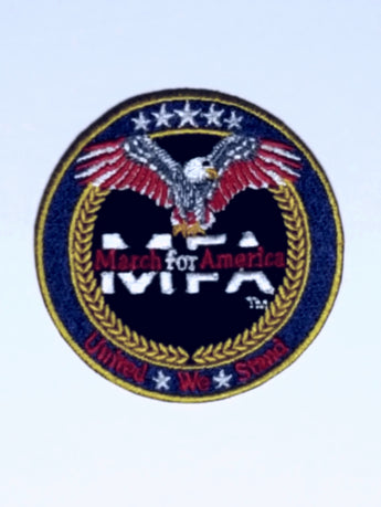 MFA - USA Made 2 1/2 Embroidered Patch