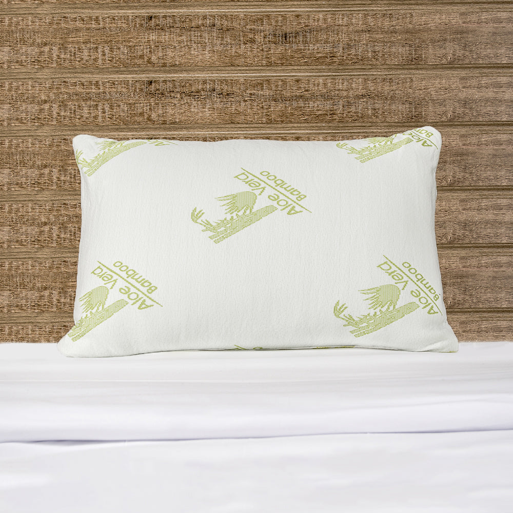 groupon queen bamboo memory product pillow foam