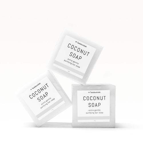 Coconut Hand Soap Bar - Extra-Gentle 100 Grams (3 Pack)
