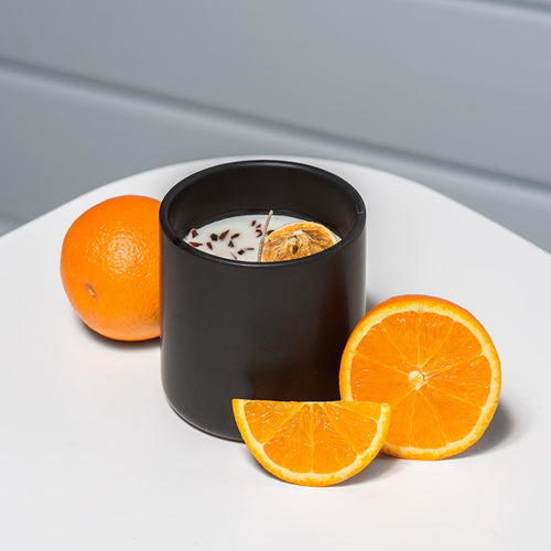 Handmade Orange Spice Soy Candle (10oz)