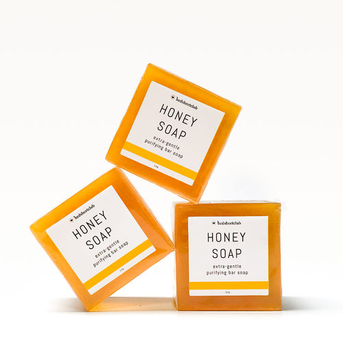 Honey Hand Soap Bar - Extra-Gentle 100 Grams (3 Pack)