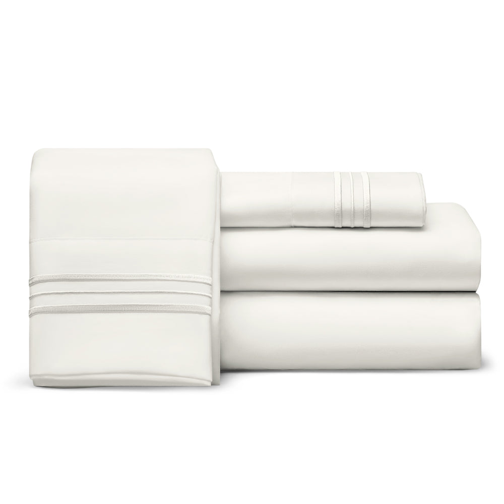 Split King Sheets 1800 Thread Count Egyptian Comfort