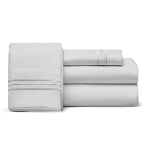 Split Top King Sheet Set (Flex), 1800 Thread Count Ultra Comfort, Deep Pocket