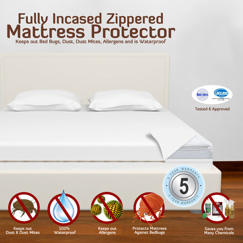 Hypoallergenic Mattress Protector - Waterproof