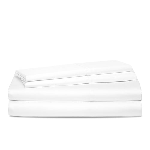King Organic Cotton Deep Pocket Sheet Set - 600 Thread Count Sustainable Organic Bedding