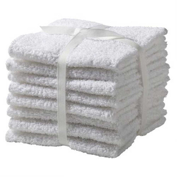 100% Cotton Luxury Hotel Wash Clothes
