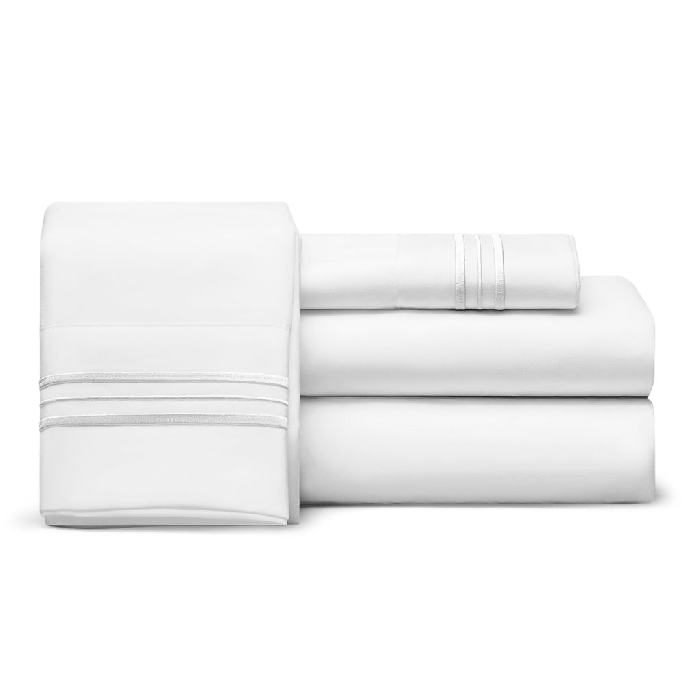 King Sheets, 1800 Thread Count Egyptian Comfort Sheets, Deep Pocket
