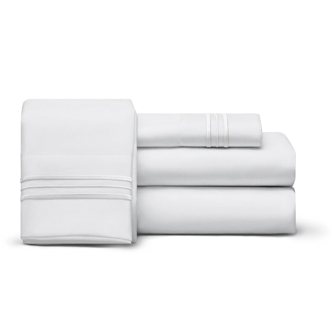 Twin XL 1800 Thread Count Egyptian Comfort Sheet Set