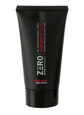 Zero headskincare gel rasatura shaving restart anti rughe 150 ml