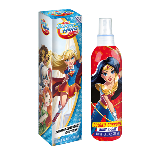 DC SUPER HERO GIRLS ACQUA PROFUMATA 200 ml