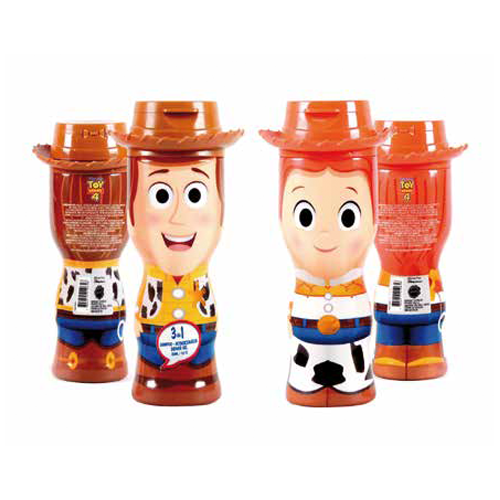TOY STORY 4 - WOODY- DOCCIA GEL 2D 350 ml