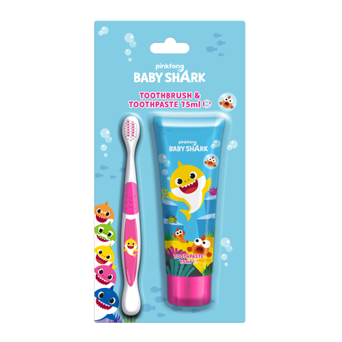 BABY SHARK SPAZZOLINO & DENTIFRICIO 75ML