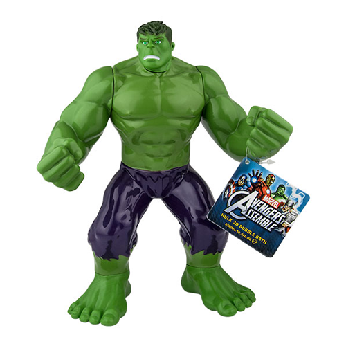 MARVEL THE HULK BAGNO SCHIUMA 3D 300 ml
