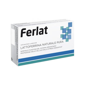 Ferlat Lattoferrina Naturale Pura 40 Compresse