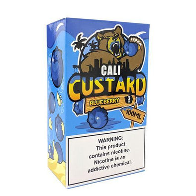 Blueberry - Cali Custard 100ml - Luxor Distro