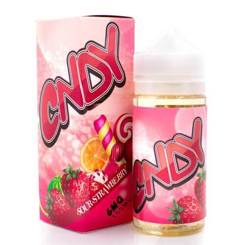 Sour Strawberry - CNDY 100ml - Luxor Distro
