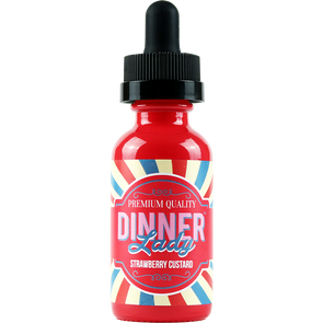 Strawberry Custard - Dinner Lady 60ml - Luxor Distro