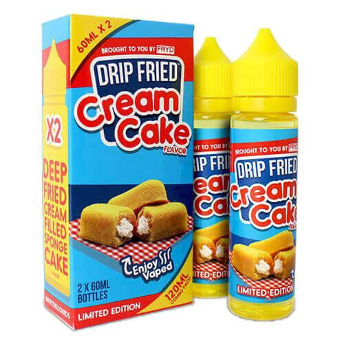Cream Cake - FRYD Liquids 120ml - Luxor Distro