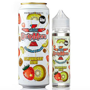 Strawberry Kiwi - Dripmore EJuice 60ml - Luxor Distro