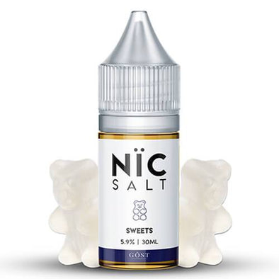 Sweets - Nic Salt GOST Vapor 30ml - Luxor Distro