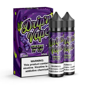 Grape It Up - Drip'n Vape 120ml - Luxor Distro