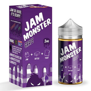 Grape - Jam Monster 100ml - Luxor Distro