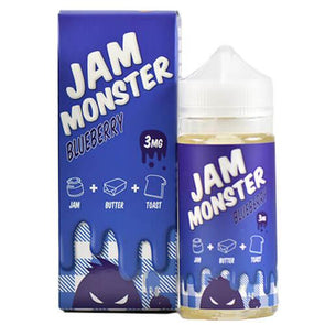 Blueberry - Jam Monster 100ml - Luxor Distro
