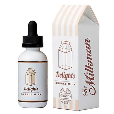 Bubble Milk - The Milkman Delights 60ml - Luxor Distro
