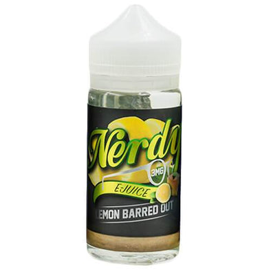 Lemon Barred Out - Nerdy E-Juice 100ml - Luxor Distro