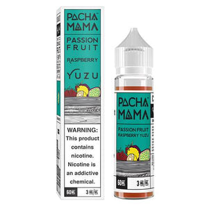 Passion Fruit Raspberry Yuzu - Pachamama 60ml - Luxor Distro