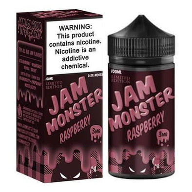 Raspberry - Jam Monster 100ml - Luxor Distro