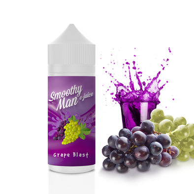 Grape Blast - Smoothy Man 120ml - Luxor Distro