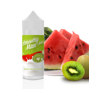 Watermelon Kiwi - Smoothy Man 120ml - Luxor Distro
