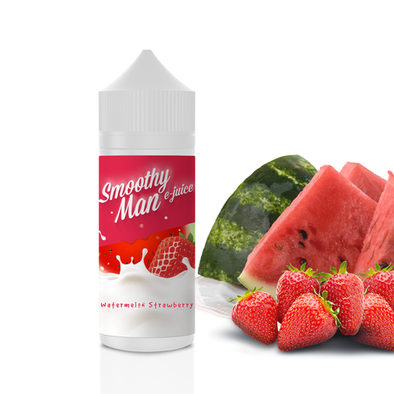 Watermelon Strawberry - Smoothy Man 120ml - Luxor Distro