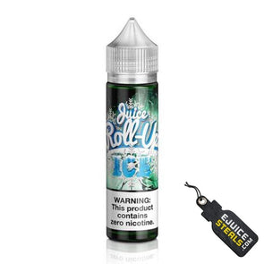 Juice Roll Upz Ice - Green Apple Ejuice - 60ml - Ejuicesteals.com