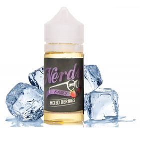 Mixed Berries Chilled Out - Nerdy E-Juice 100ml - Luxor Distro