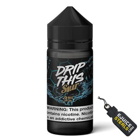 Drip This Sour - Blue Raspberry Ejuice - 100ml - Ejuicesteals.com
