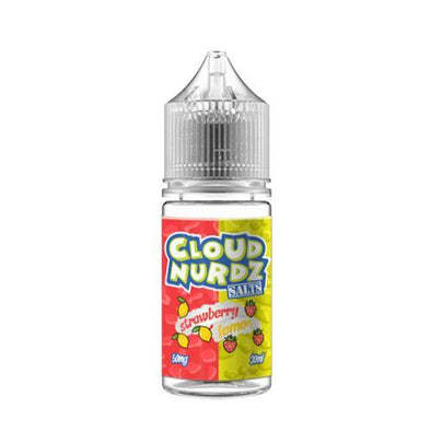 Strawberry Lemon - Cloud Nurdz Salt 30ml - Luxor Distro