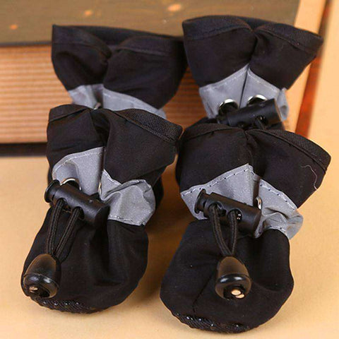 Image of Chaussons antidérapant pour chien - Noir / 1 - Lovely bouledogue