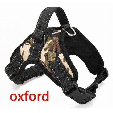 Image of Harnais de sécurité - Camouflage Oxford / S - Lovely bouledogue
