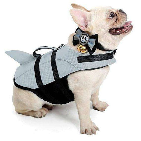 Gilet de natation Requin - Gris / S - Lovely bouledogue