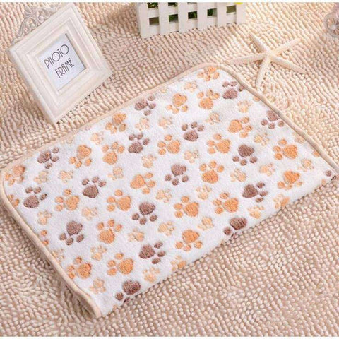 Tapis couverture polaire -  - Lovely bouledogue