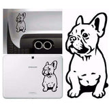 Stickers Bouledogue Français (Voiture, mur, etc...) -  - Lovely bouledogue