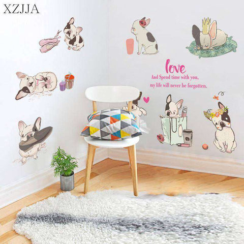 Kit de stickers trop mignons -  - Lovely bouledogue