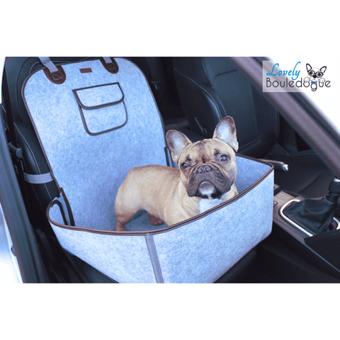 Image of Housse de protection pour le transport - Gris - Lovely bouledogue