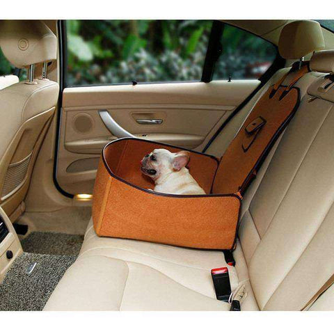 Image of Housse de protection pour le transport - Marron - Lovely bouledogue