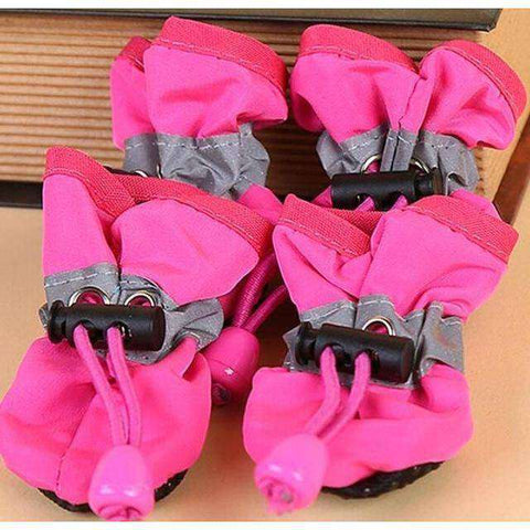 Chaussons antidérapant pour chien - Rose / 1 - Lovely bouledogue