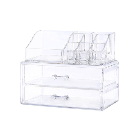 Acrylic Makeup & Beauty Storage - Ladies wishlist