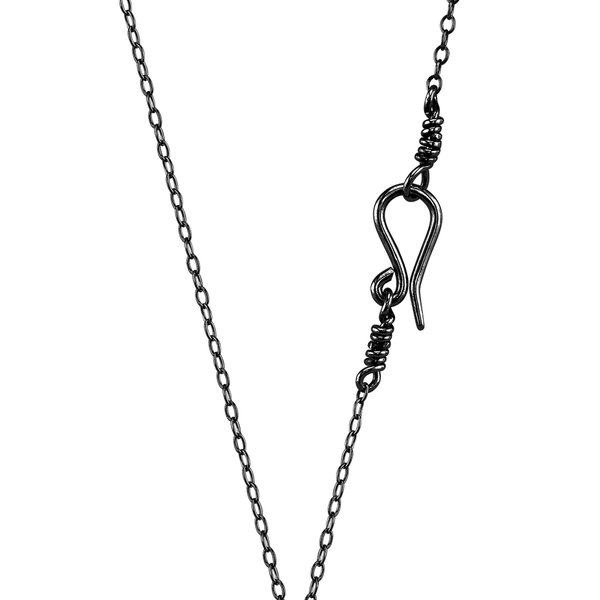 Black Tone Match Necklace